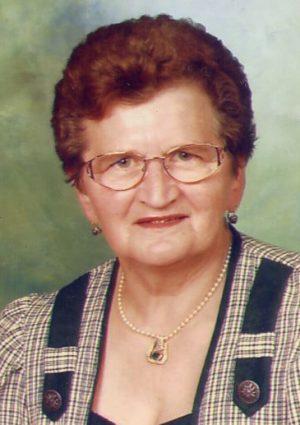 Portrait von Skokoff Maria